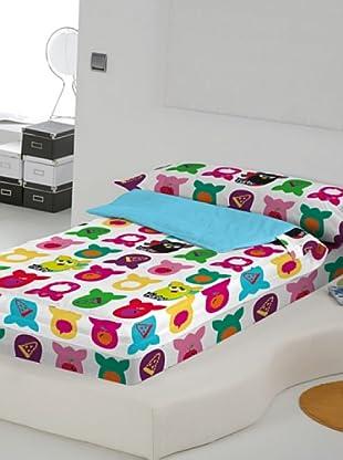 Euromoda Saco Nórdico Sin Relleno Furby Doo Doo (Multicolor)