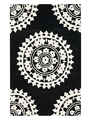 Soho Rugs Pattern (Black/Ivory)
