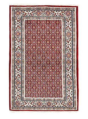 Darya Rugs Authentic Persian Rug, Red, 3' x 5'