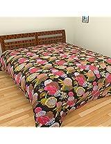 Alankrita Cotton Bedspread - Multicolour, Queen Size