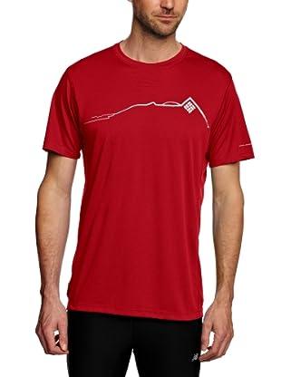 Columbia Camiseta Funcional Angulema (Rojo)