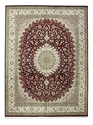 Bashian Rugs Pakistan Kashan Rug, Red, 8' 10
