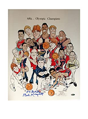 Steiner Sports Memorabilia Bob Knight 1984 Olympic Champions Cartoon Signed Photo