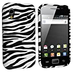 eForCity TPU Rubber Skin Case for Samsung Galaxy Ace S5830 - Retail Packaging - Black