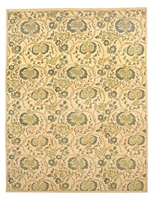 French Accents Mer Carpet (Green/Tan)