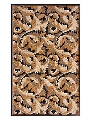 Momeni Art Nouveau Collection Rug (Black)