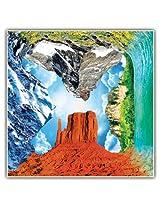 4 Fronts Puzzle - Nature's Wonders