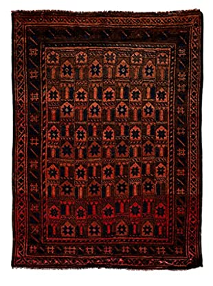 Darya Rugs One-of-a-Kind Tribal Rug, Rust, 8' 4