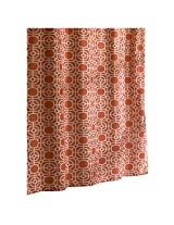 Ex-Cell Dartmouth Fabric Shower Curtain, 70 by 72-Inch