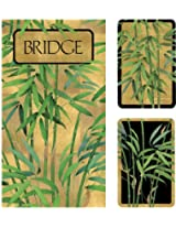 Entertaining with Caspari Bridge Gift Set, Bamboo Trees