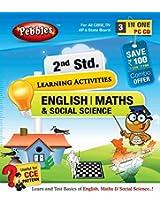 2nd Std English, Maths & Social Science