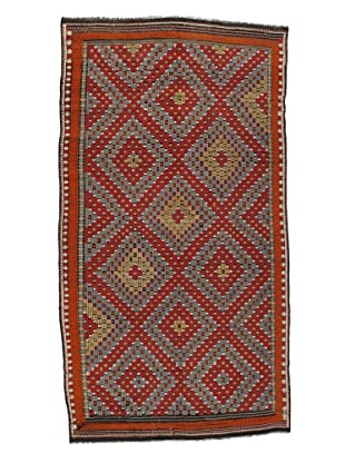 Rug Republic One Of A Kind Turkish Tribal Hand Woven Flat Weave Rug, Multi, 5' 11