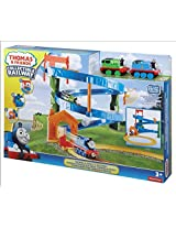 Thomas Collectible Railway and Percy's Raceway, Multi Color