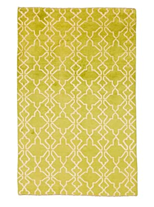 Azra Imports Vogue Rug, Green/Ivory, 3' 9