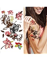 Supperb Temporary Tattoos - Mayflowers & Birds