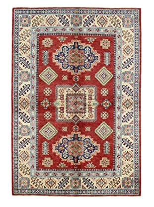 Bashian Rugs One-of-a-Kind Hand Knotted Paki Kazak Rug, Rust, 5' 5