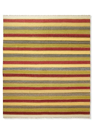 Flatweave Multi Stripes, 6' x 9'