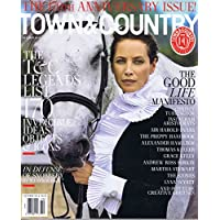 TOWN & COUNTRY October 2016 小さい表紙画像