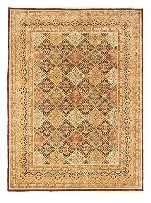 eCarpet Gallery Mirzapur Rug, Dark Brown, 9' x 12'