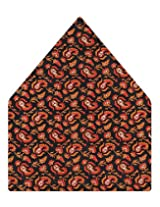 Tiekart Printed Silk Pocket Square (Ps373_Multi)