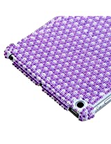 MyBat Back Protector Cover for iPad mini, Dots Pearl Diamante Smart Slim (IPADMINIHPCBKPRLDM602WP)