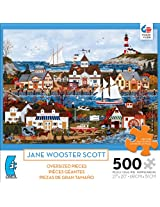 Ceaco Oversized Jane Wooster Scott Jigsaw Puzzle, Lure Of The Sea (500-Piece)