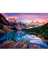 Buffalo Games Reflections: Mountains on Fire Jigsaw Bigjigs Puzzle (750 Piece)