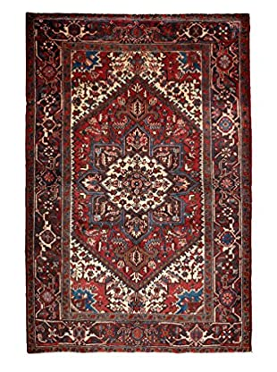 Darya Rugs Persian One-of-a-Kind Rug, Rust/Ivory, 6' x 9'