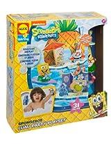 SpongeBob Luau Party Play Set Bath Toy