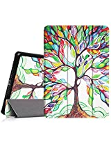 Fintie iPad Air Case - Ultra Slim Lightweight Stand Smart Cover with Auto Sleep/Wake Feature for Apple iPad Air (iPad 5) 2013 Model, Love Tree