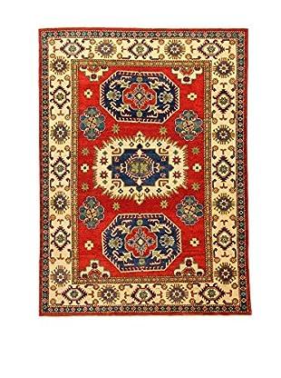 L'Eden del Tappeto Teppich Uzebekistan Super rot/mehrfarbig 208t x t152 cm