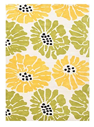 Jaipur Rugs Hand-Tufted Durable Rug (Green/Yellow)