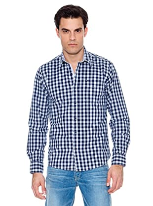 Pepe Jeans London Camisa Hitchking (Marino / Blanco)