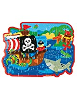 Stephen Joseph Toys Pirate Puzzle (48 Piece)