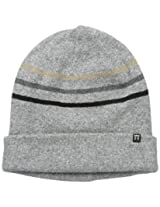 Haggar Men's Striped Cuffed Beanie