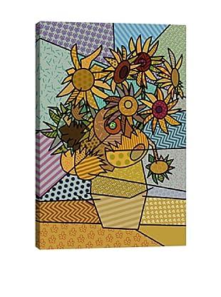 Sunflowers 2 (After Vincent Van Gogh) Canvas Giclée Print