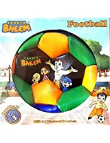 Chotta Bheem Football Size 3 with chutki and friends (Official Licensed Product)