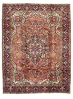 Bashian One-of-a-Kind Persian Heriz Rug, Rust, 8' x 11' 2