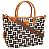 Orla Kiely Flower Shadow Dot Print Tilly Shoulder Bag