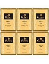 Aster Luxury Green Tea Premium Handmade Bathing Bar - Set of 6 (125g each)
