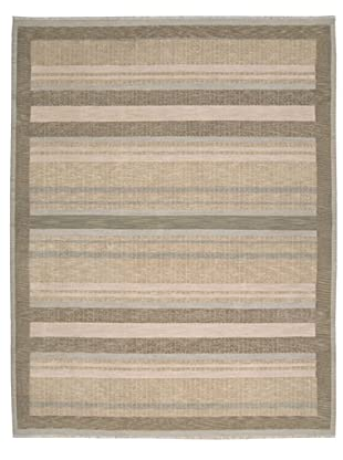 Calvin Klein Home Fielded Stripe Rug (Aloe)