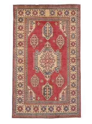 Rug Republic One Of A Kind Pakistani Kazak Rug, Red/Blue/Antique Ivory/Multi, 3' 6
