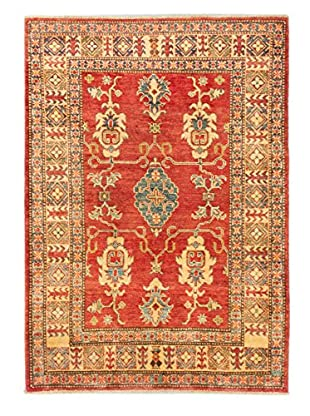 Hand-Knotted Finest Gazni Rug, Red, 4' 1