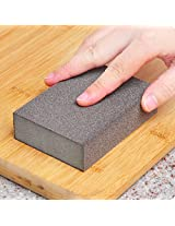 Nano Silicon Carbide Clean Sponge Brush Descaling Multi-purpose Brush(coffee)