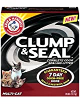 Arm & Hammer Clump & Seal Litter, Multi-Cat, 28 Lbs