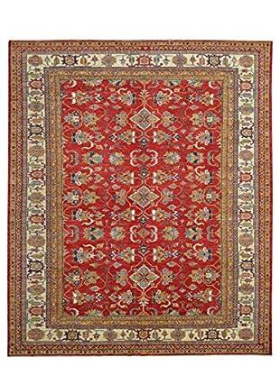 Kalaty One-of-a-Kind Kazak Rug, Red, 9' x 11' 9