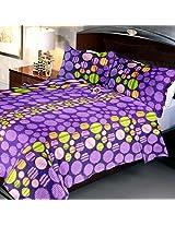 Exclusive 144 TC Reactive Printed Bedsheet Queen