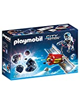 Playmobil Satellite Meteoroid Laser Building Kit