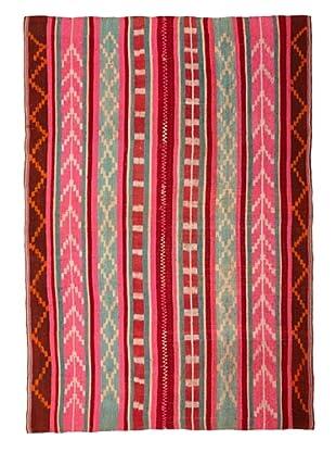 Nomadic Thread Society Market Peruvian Rug, Multi, 4' 2