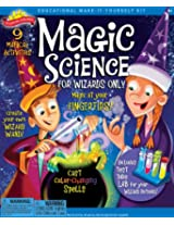Scientific Explorer Magic Science for Wizards Only Kit  (9- Activities)